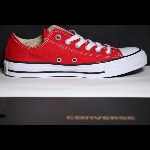 Converse Classic Red All Star Low Tops NWT